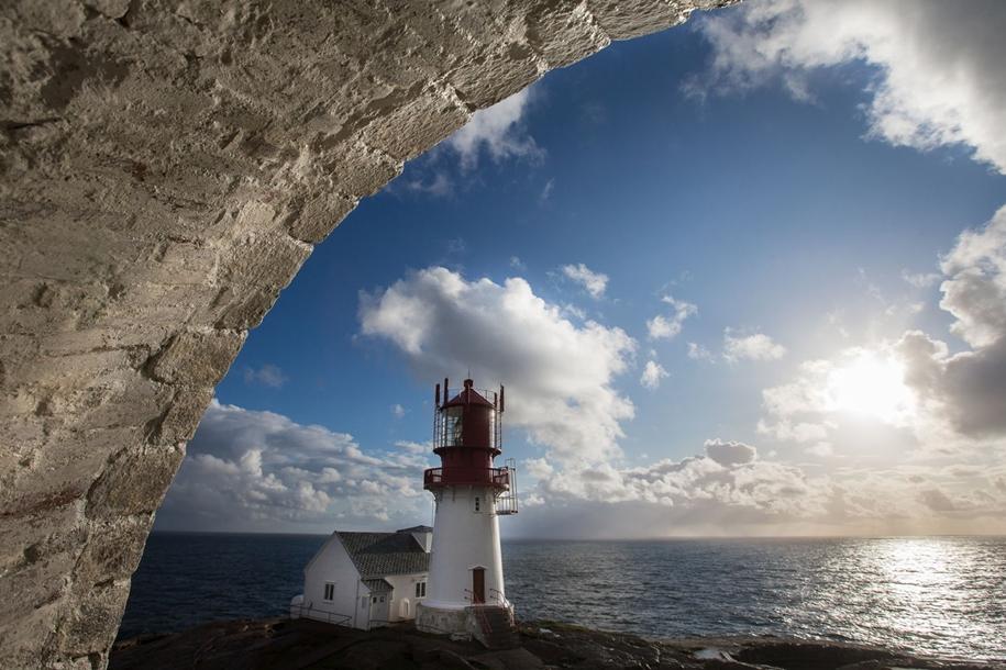 Самый южный маяк Норвегии