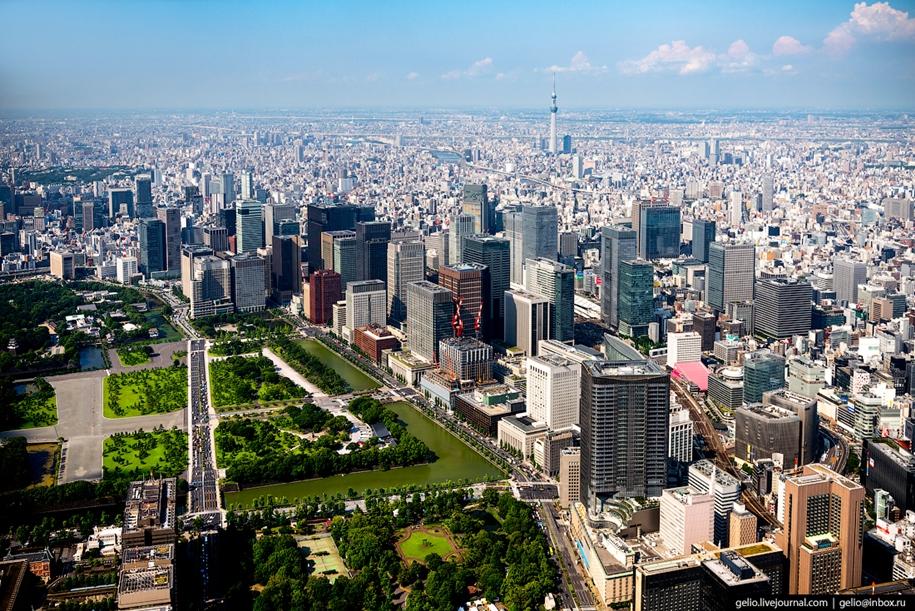 Токио с высоты