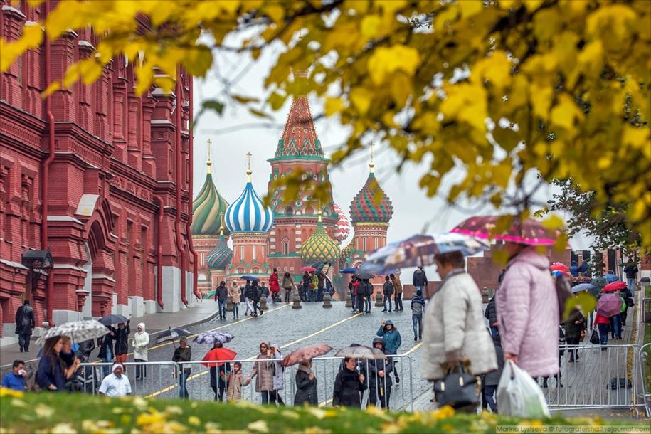 Прогулка по осеннему Кремлю