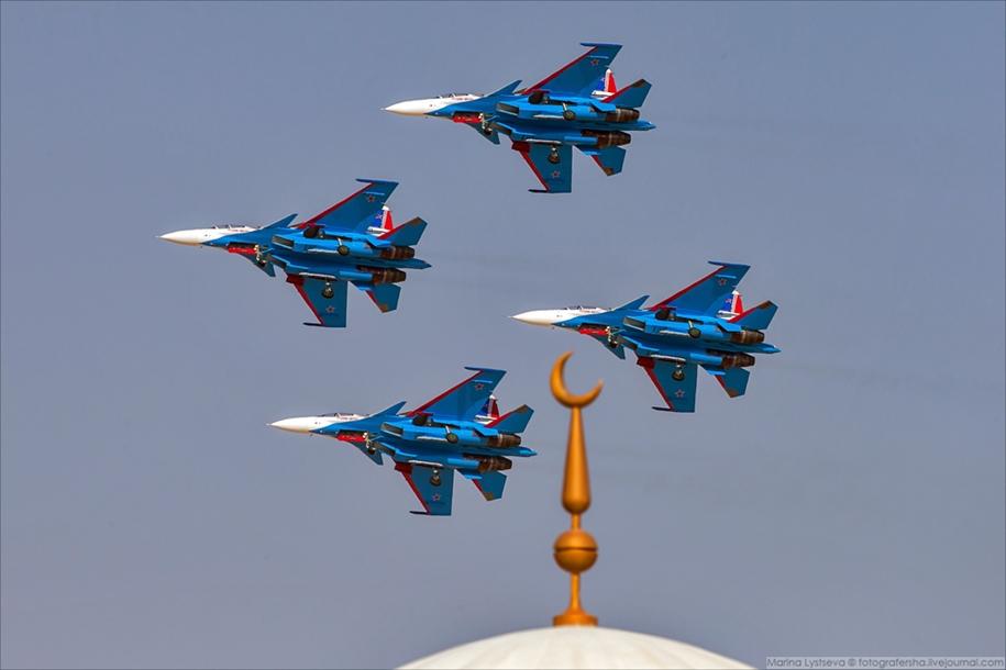 «Русские витязи» в Дубае