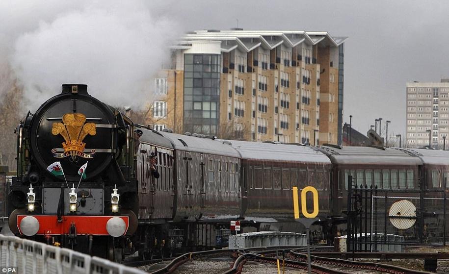 Викторианский поезд королевы