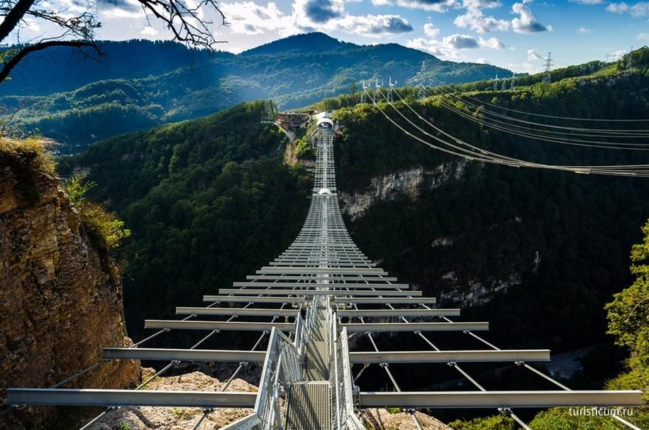 10 подвесных мостов для выброса адреналина