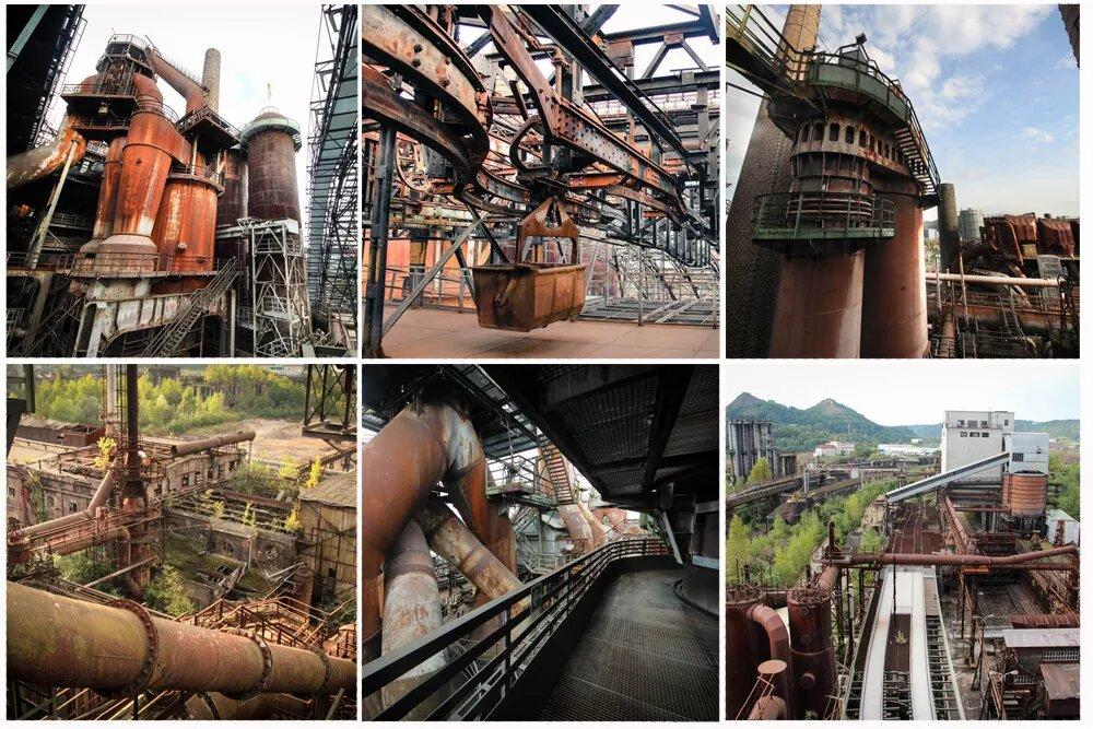 Völklinger Hütte — храм индустриальной эстетики