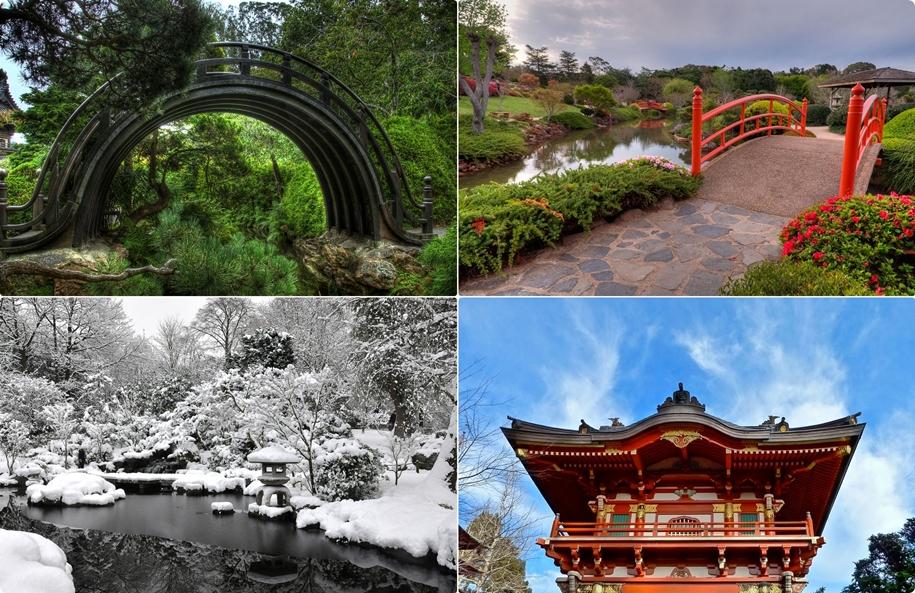 Знаменитые японские сады за пределами Страны восходящего солнца