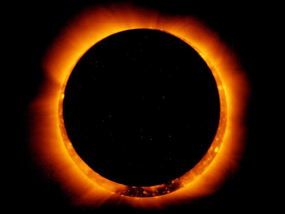 Затмение «Кольцо огня» 21 июня 2020