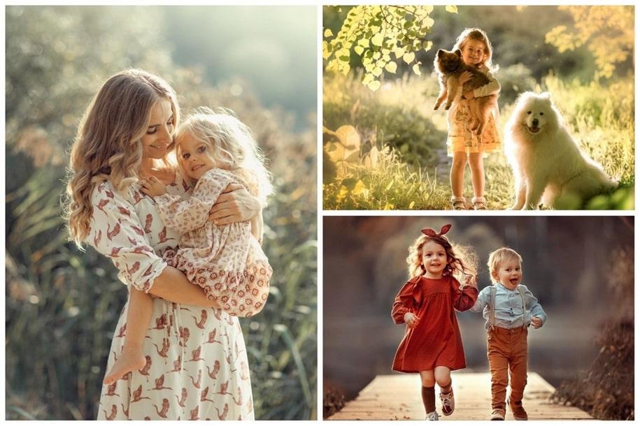 Счастливые моменты детства