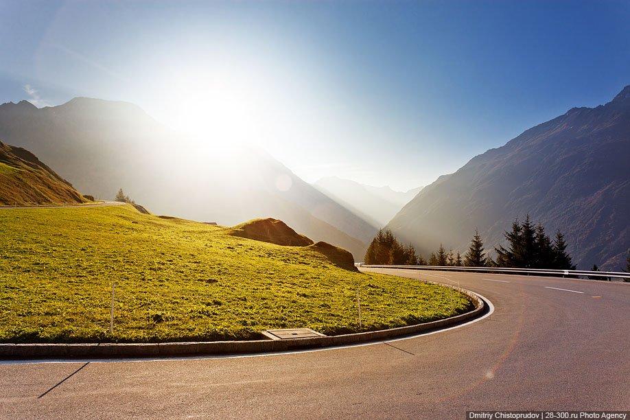 Перевал Оберальп в Швейцарии