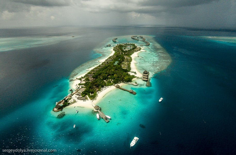 Самый роскошный отель на Мальдивах