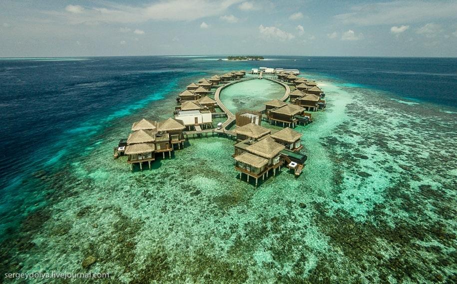 Самый романтичный отель на Мальдивах