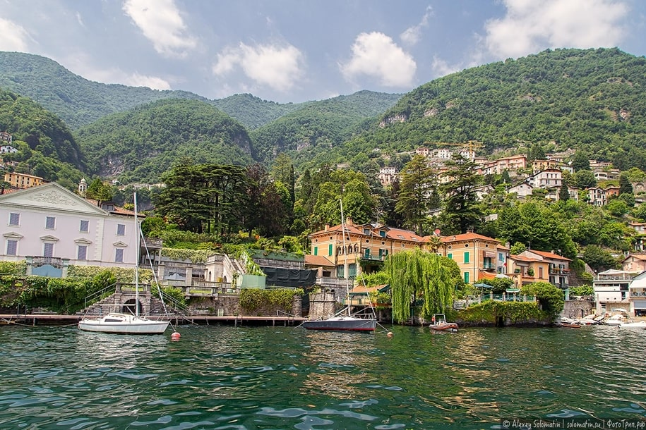 Торно и Мольтразио — живописные города на озере Комо