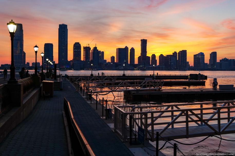 В Нью-Йорке установилась привычная июльская жара