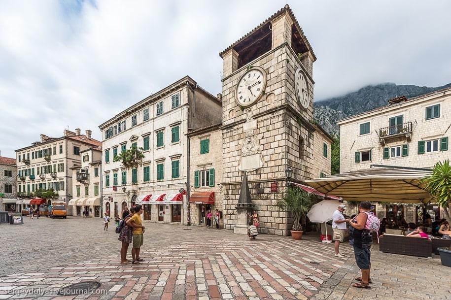 Котор — популярная туристическая локация Черногории