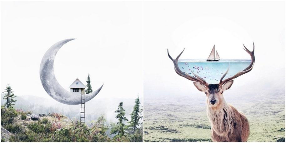 Замечательные фотоманипуляции от Луизы Азеведо