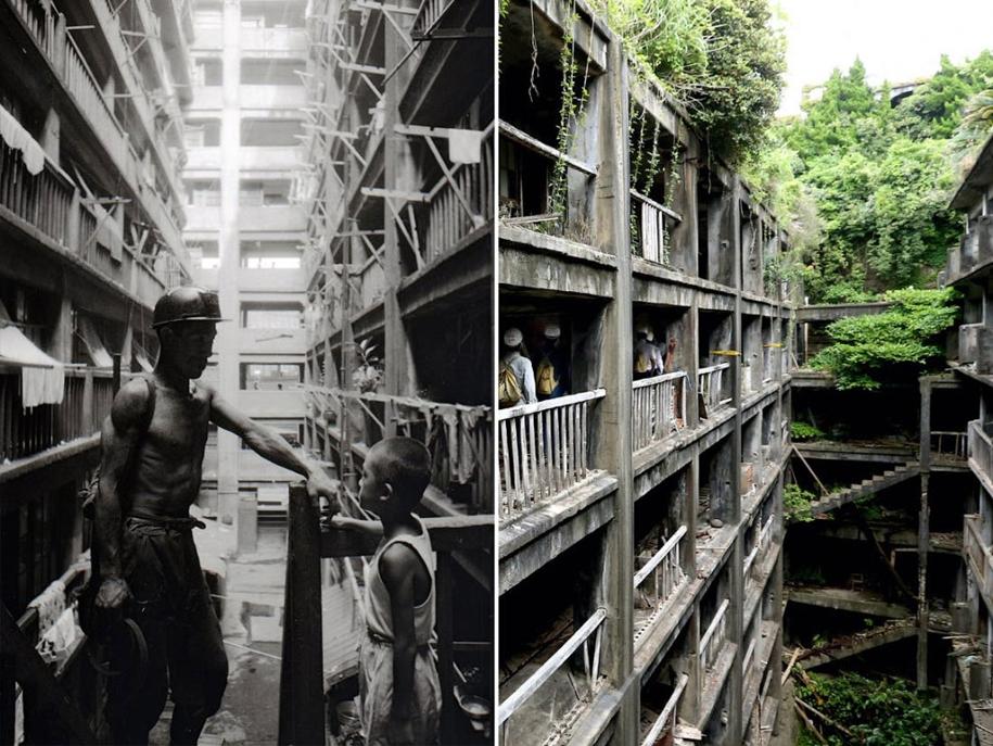 Лучшее место фильма ужасов: как выглядит заброшенный остров у берегов Японии