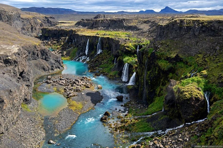 Бескрайние долины и марсианские пейзажи Исландии