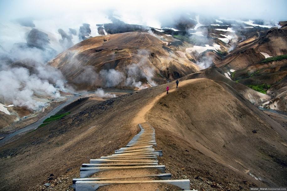 Фантастические пейзажи острова Исландия