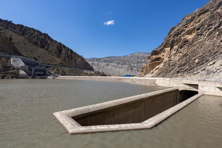 Гоцатлинская ГЭС в Дагестане