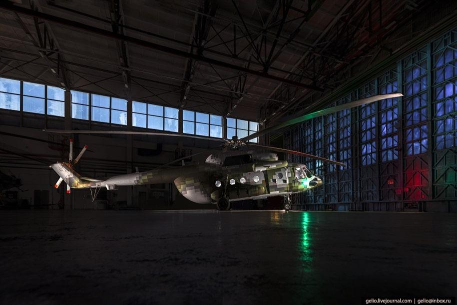 Производство вертолётов на Улан-Удэнском авиационном заводе