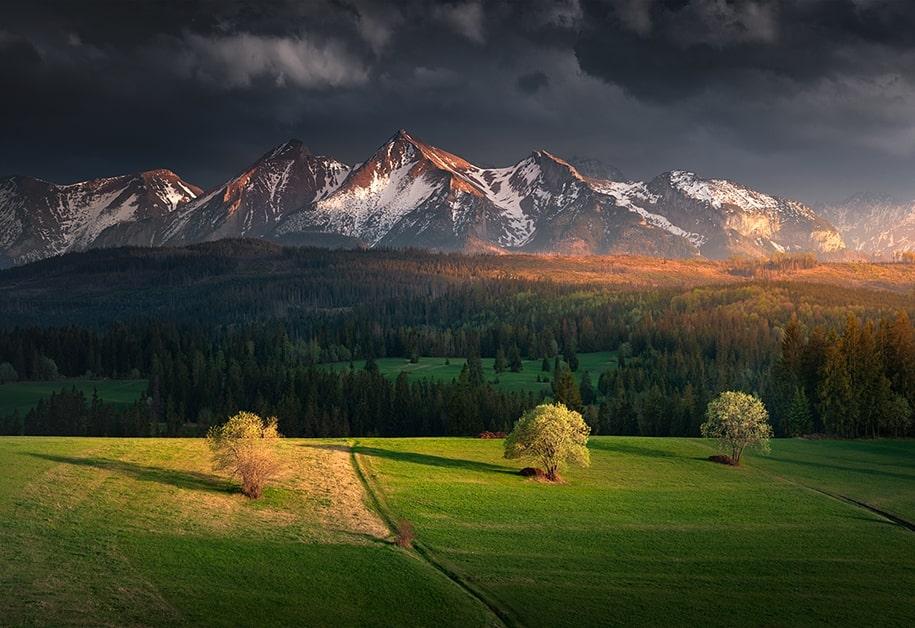 Великолепие природы в пейзажных фото