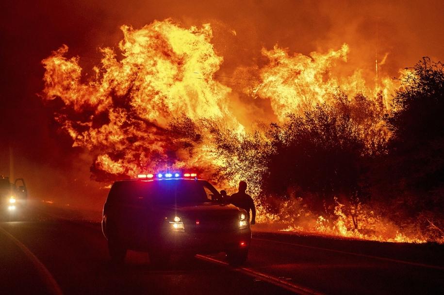 Ярость лесных пожаров на американском Западе