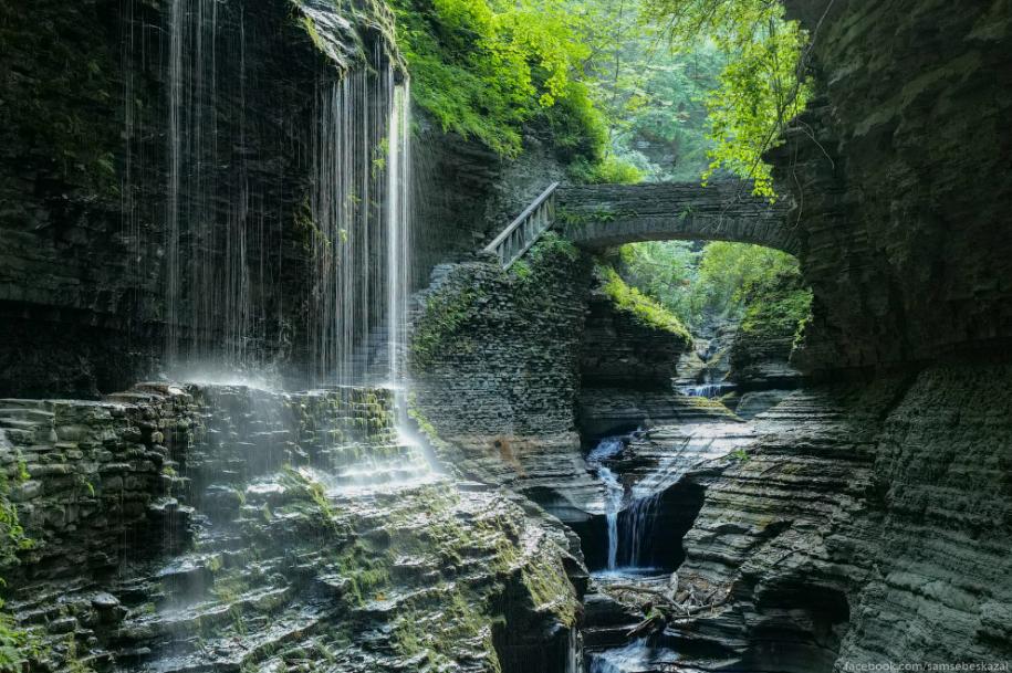 Самое красивое место штата Нью-Йорк