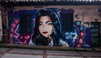 Стрит-арт в Колумбии