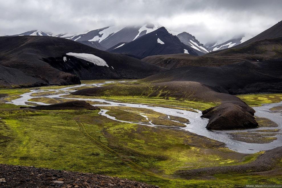 Остров Исландия: маршрут в никуда