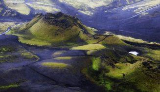 Недружелюбный вулкан Лаки в Исландии