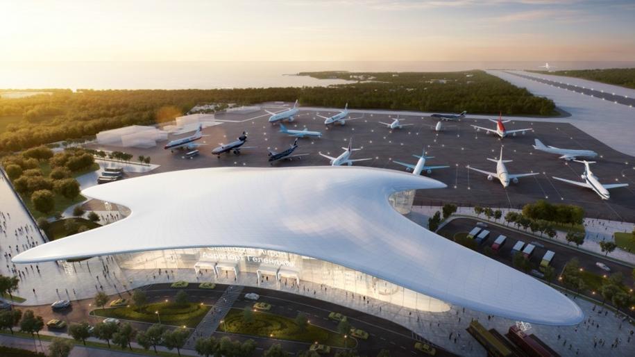 Каким будет новый аэропорт Геленджика