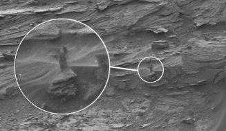 Загадки Марса: снимки с планеты, на которых обнаружены загадочные артефакты