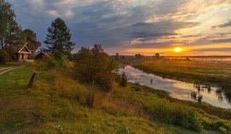 Красивые пейзажи сельской местности
