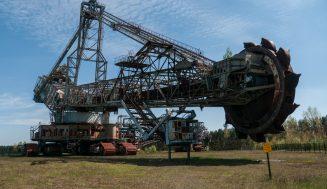Огромный заброшенный экскаватор Bagger 258