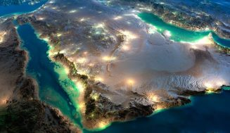Потрясающие фотографии ночной земли из космоса